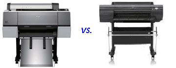 Epson 7890 vs. Epson 7900 vs. Canon IPF 6300