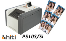 HiTi P510S with 2x6 Photo Strips