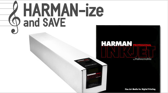 Harman Inkjet Papers by Hahnemuhle