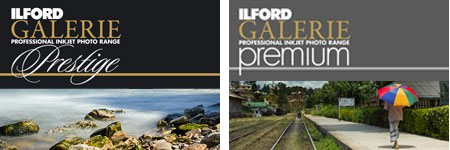 New Ilford Prestige Premium Inkjet Papers