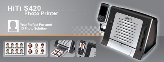 HiTi S420 Passport Photo System from Imaging Spectrum