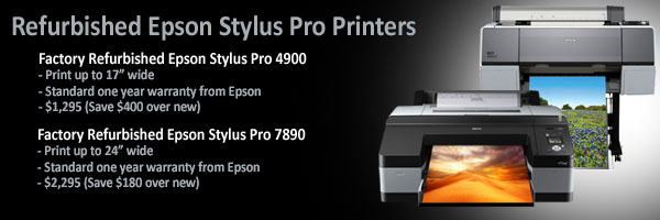 Epson Factory Refurbished Printers Available