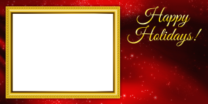 free 4x8 holiday photo card template
