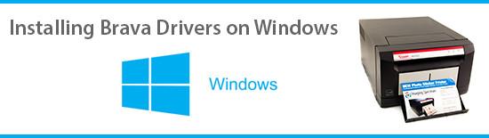 Loading Brava 21 Photo Printer Drivers on Windows | Imaging