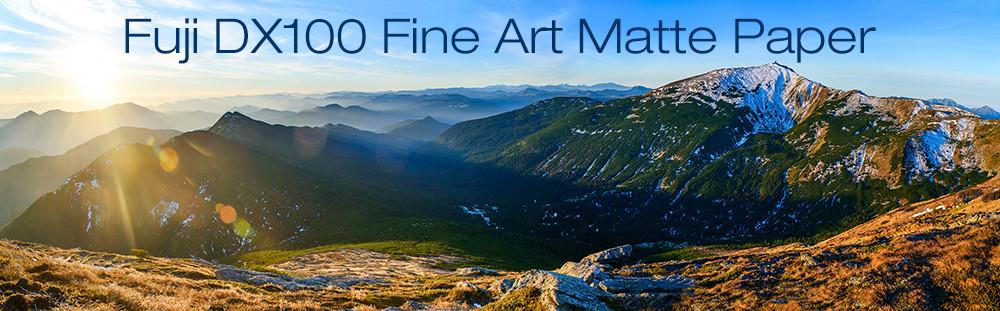 Fuji DX100 Fine Art Matte Paper