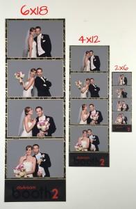 Jumbo Photo Booth Strips with Fuji DX100