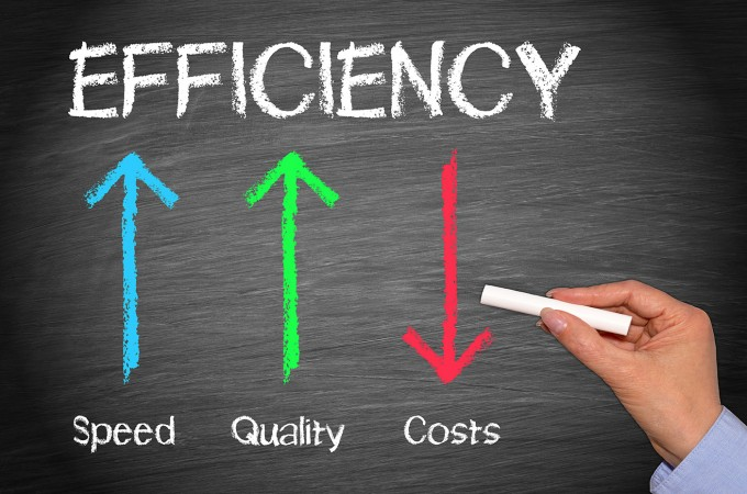 Efficiency Business Concept