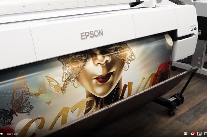 Epson P20000 Video Banner