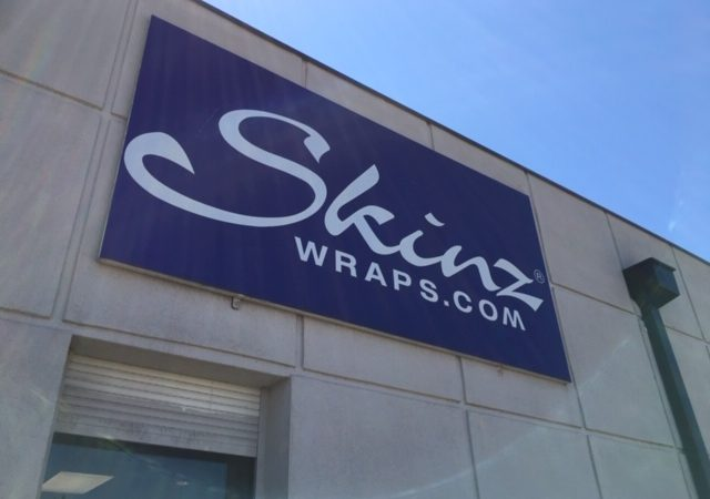 Skinz Wraps building Sign