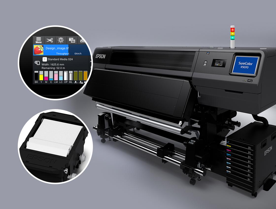 Epson R Series Resin Printer Features