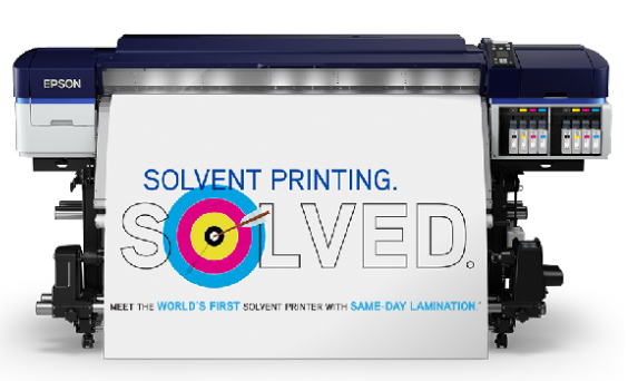 Solvent Printing Solved Epson