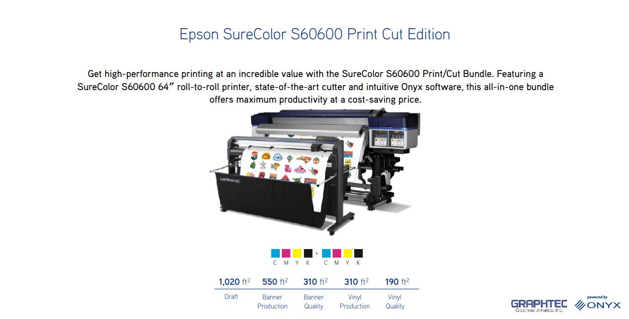 S60600 Print Cut Edition