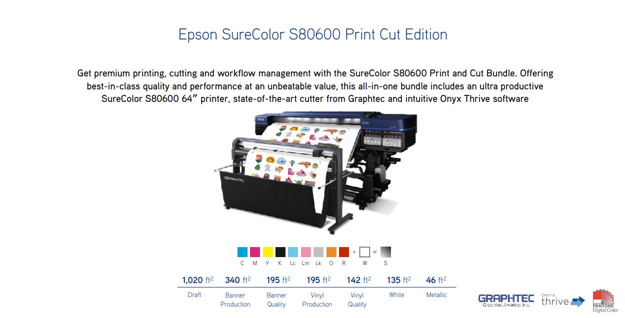 S80600 Print Cut Edition