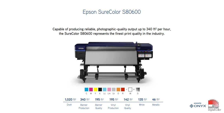 S80600 Epson SureColor
