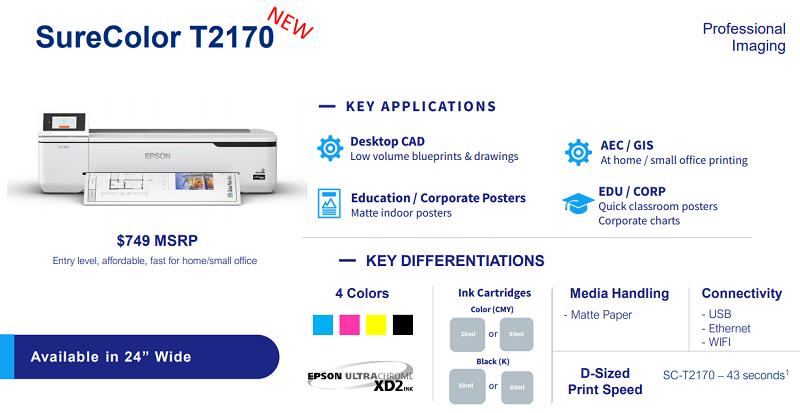 T2170 Epson CureColor