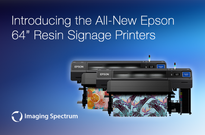 new epson resin printer banner