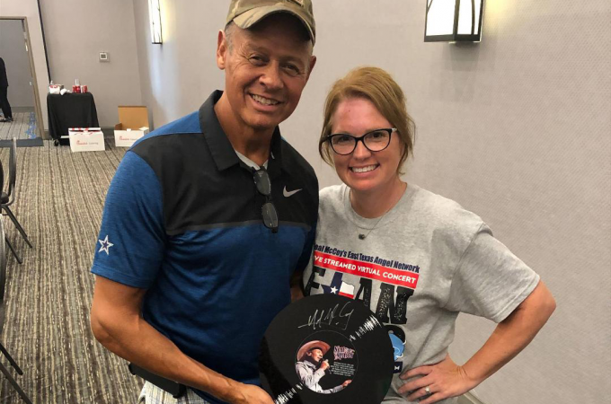 Stefanie Yoder and Neal McCoy's East Texas Angel Network Benefit