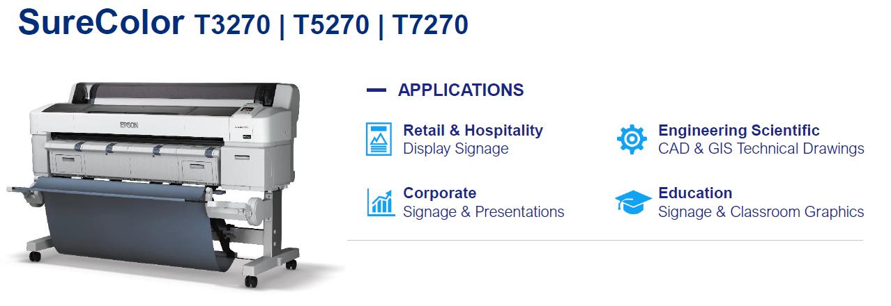 Epson T Series T7270SR